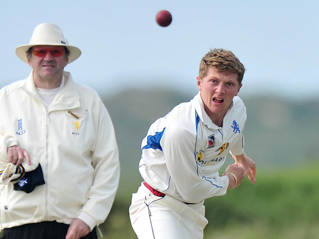 Dom Bess, the off-spinning all-rounder from Devon CCC